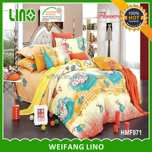 light bed cover/adult cartoon bedding set /wholesale bed clothes