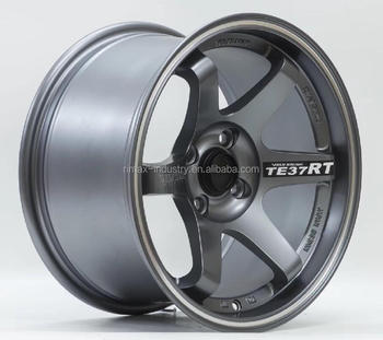 Te37 Rt New Design Wheels Sport Car Rims Size 15x8 25 4x100 Buy