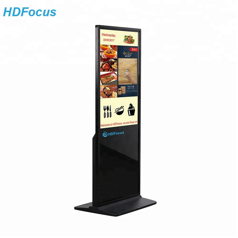 HD42F Totem 42 Inch Mall Panel Reclame Touchscreen Digital Signage Lcd-scherm Kiosk