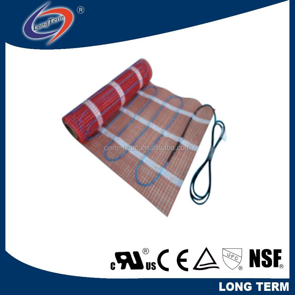 Two Conductor Fluoropolymer Floor Warming Mat/pvc Electric Heating ...