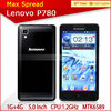 cheap lenovo p780 phone android 4.2 mtk6589 quad core mobile phone 100% original