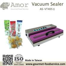 desktop hand operated non nozzle food tray vacuum sealer