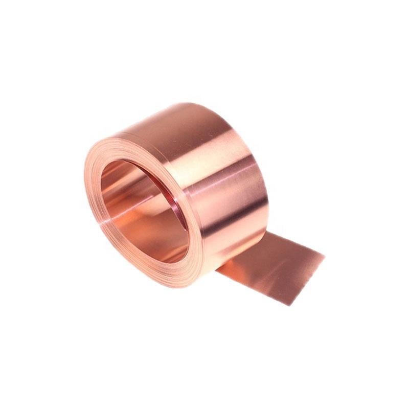 चिपकने वाला तांबे टेप कीमत प्रवाहकीय तांबा पन्नी टेप के लिए तांबे पन्नी टेप