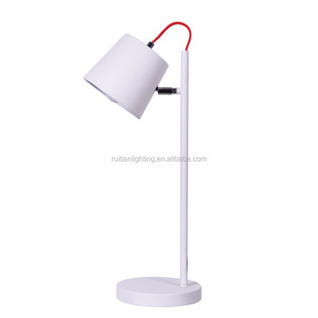 Simple Desk Lamp White Buy Table Lamp Designindustrial Mission