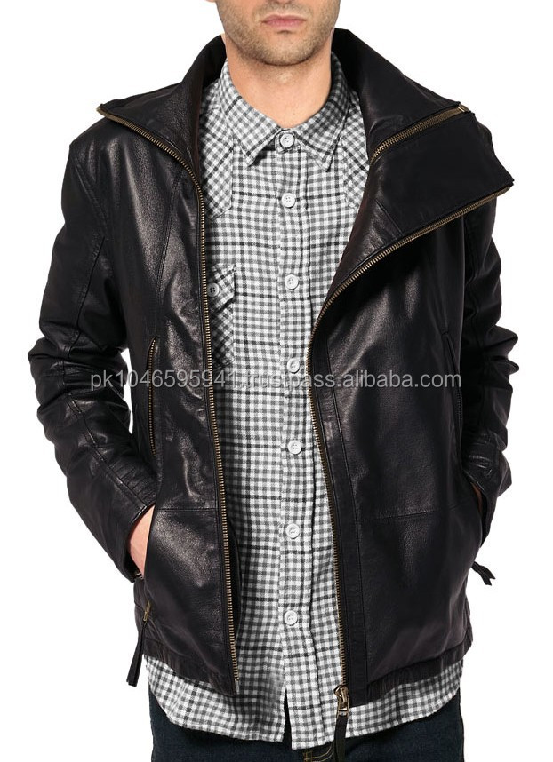 Voguish Leather Jacket for Men