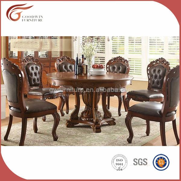 Classique italienne ensembles de salle manger avec en for Chaise de salle a manger hemisphere sud