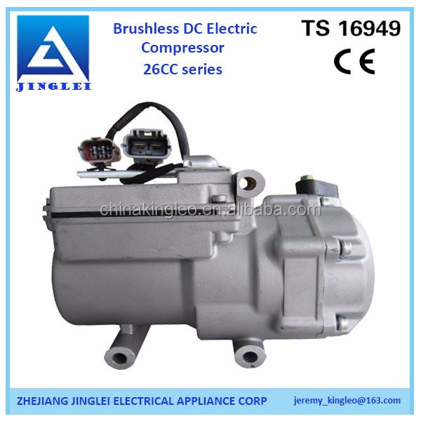 48V electric dc compressor of mini air conditioner for car