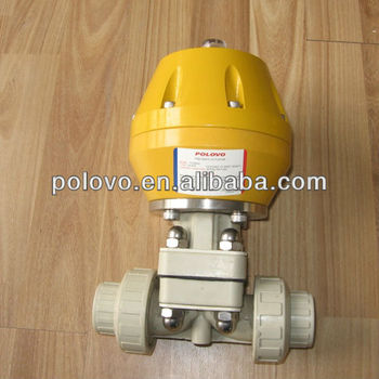 Double union plastic pph air actuated diaphragm valve buy air double union plastic pph air actuated diaphragm valve ccuart Gallery