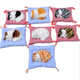 Best Price Realistic Plush Sleeping Cat Toy with basket