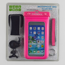 Outdoor beach Entertainment safety waterproof mobile phone armband case