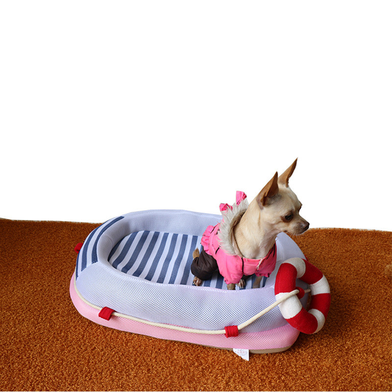 Manufacturer Direct Selling Pet products cat house spring and summer boat pet dog mattress cat mattress