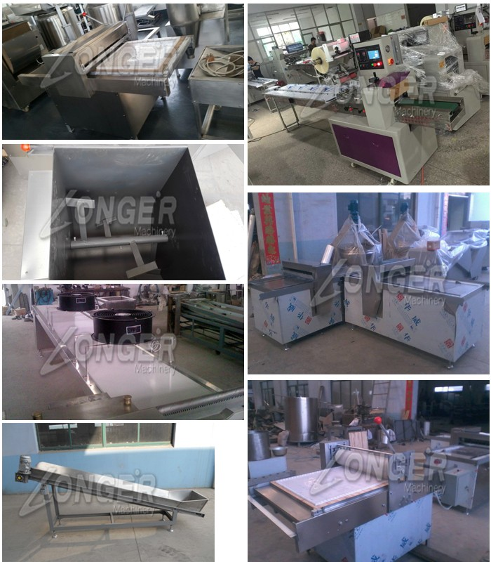 Commercial Peanut Brittle/Sesame Candy/Peanut Bar Making Machine