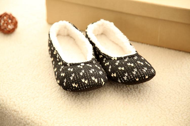 Ladies Line Latain Woman Indoor Warm Winter Dance Shoes