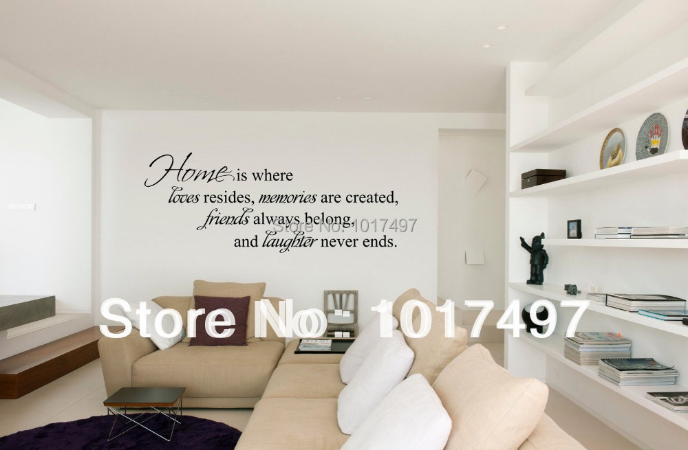 Aliexpress.com : Buy Home Is Where Love Resides Friends