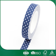 promotional gift packing japanese adhesive fabric tape, binding stretch fabric tape, wholesale stretch fabric tape