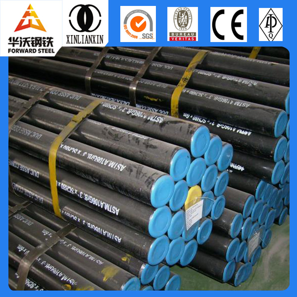 ST 55 Gas & Oil transport seamless steel pipes