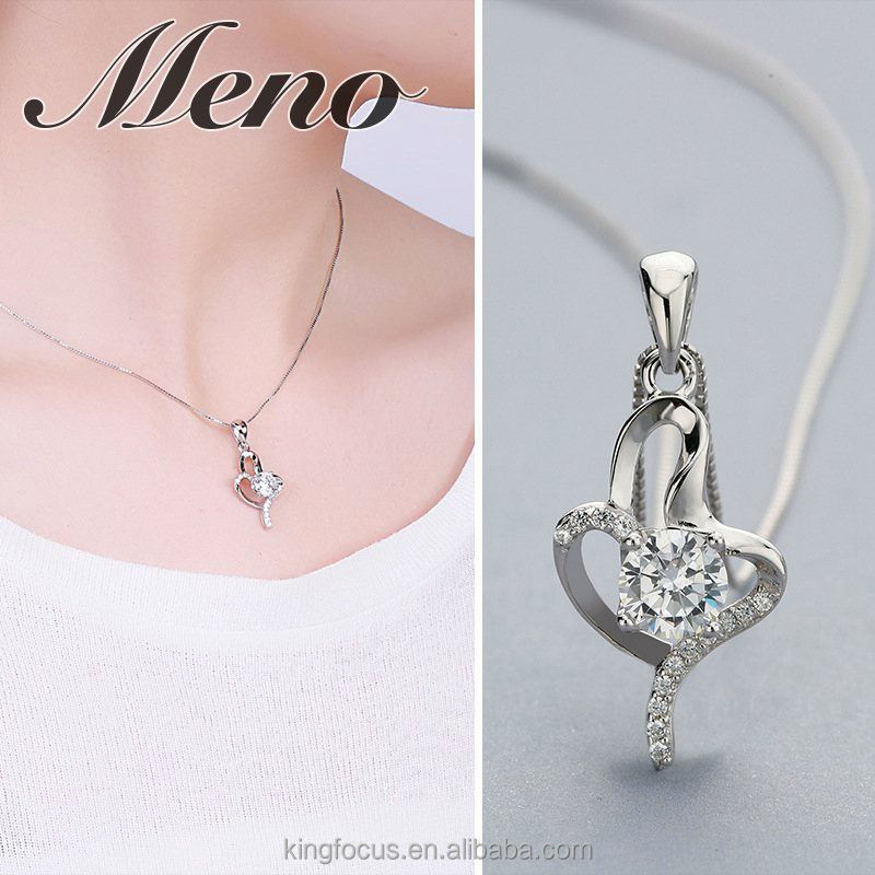 Meno s925 silver imitation gold cross pendant for Engagement
