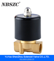 2W High Quality Diaphragm type 220v ac 12v dc water solenoid valve