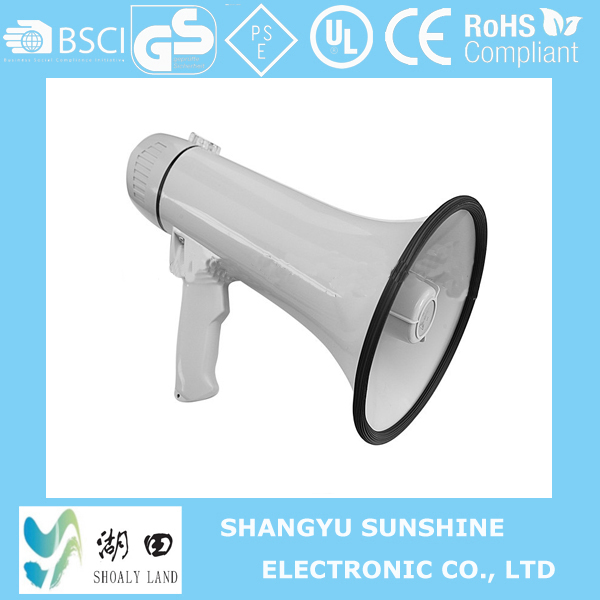 10/15W High Power Plastic Hand Megaphone/Loud Hailer