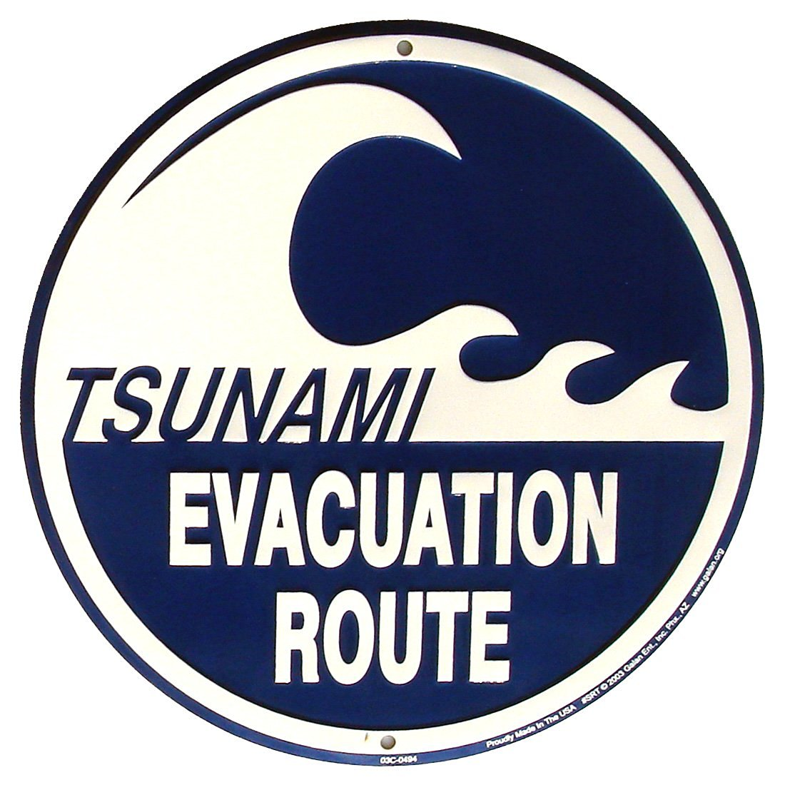 Cheap road sign symbols find road sign symbols deals on line at tsunami evacuation route metal sign warning wave beach road plaque biocorpaavc Choice Image