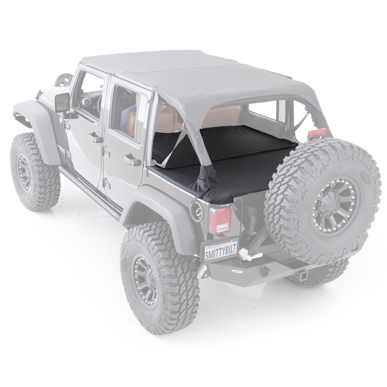 Smittybilt 761235 Black Diamond Tonneau Cover for Jeep JK 2-Door