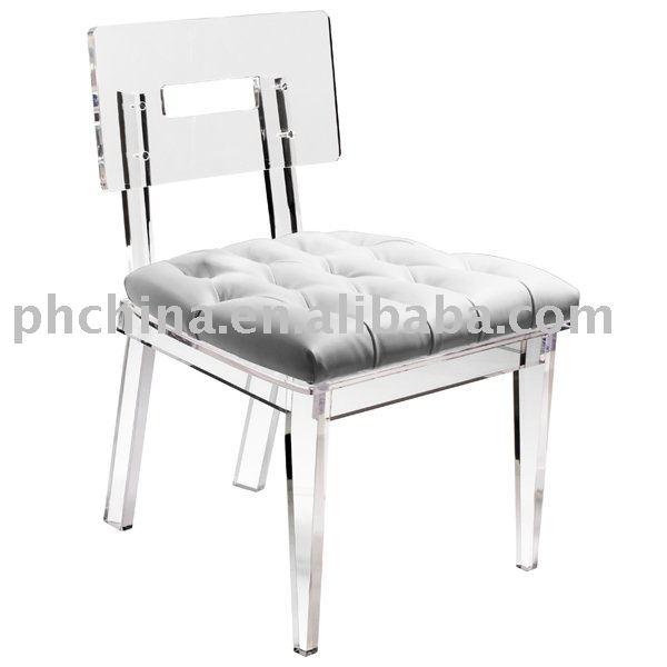 Clear Acrylic George Ii Chair;clear Acrylic Dining Chair;clear ...