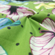fair trade organic cotton woven fabric printed butterfly GOTS certificated baby body organic cotton