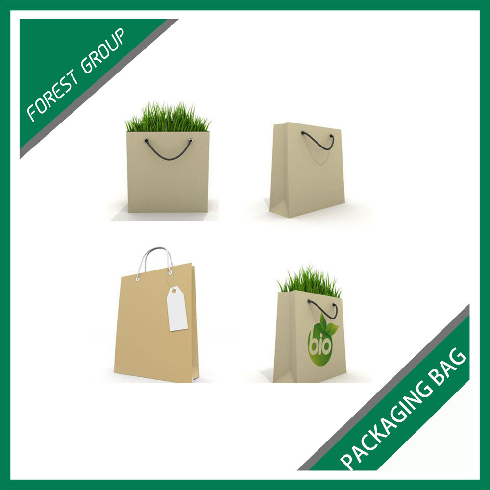 CHEAP PRICE BROWN PAPER BAGS FLOWER PACKING BAG MADE IN CHINA