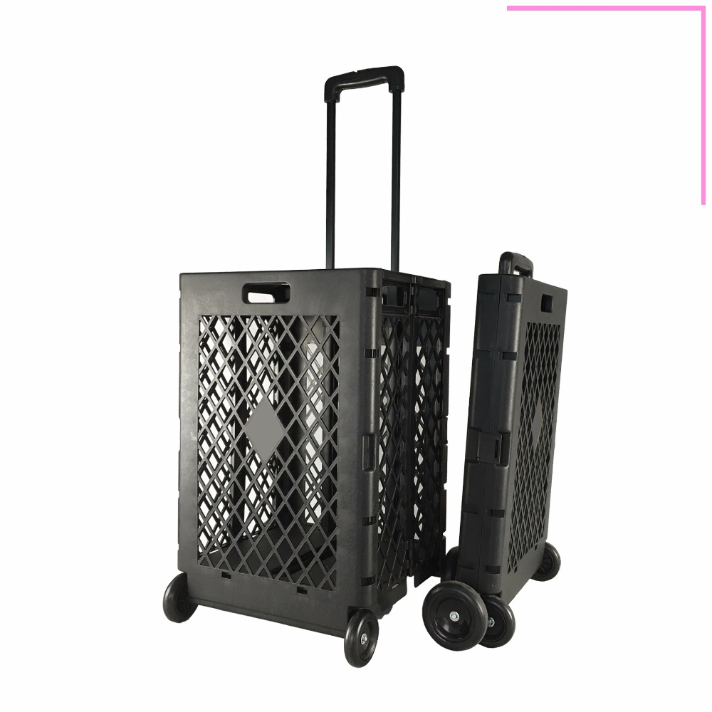 Virgin pp folding trolley shopping foldaway luggage carts
