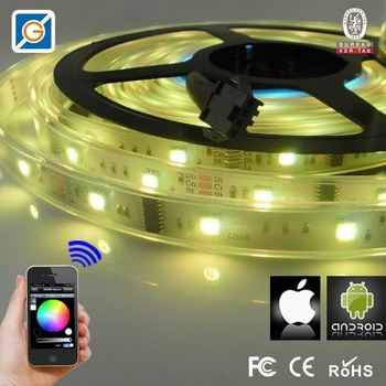 bluetooth light switch android iphone white pcb led strip. Black Bedroom Furniture Sets. Home Design Ideas