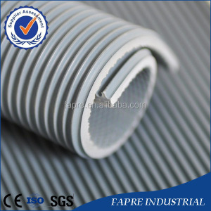 3mm fine/ wide ribbed embossed rubber sheets