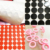 Custom Die Cutting Black/White Furniture Adhesive Felt Pads With Free Sample