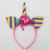 Colorful Ornaments Headband Girls Beautiful Party Birthday