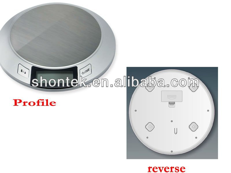 5kg/9 lb Digital Kitchen Scale with CE/ROHS