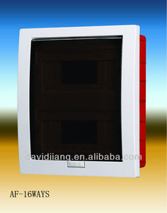 AF mcb 16ways distribution box IP65 distribution board