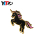Wholesale fancy cute unicorn lapel pin /Custom art design hard enamel metal badge