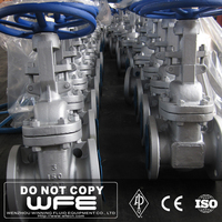 WFE API 600 Flexible Wedge Flanged Cast Steel Class 150/300/600 Gate Valve