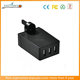 2017 New Products CE/FCC/ROHS 3-port Portable USB Cellphone Wall Mains Charger 3 Outlet Travel AC Charger with UK Plug