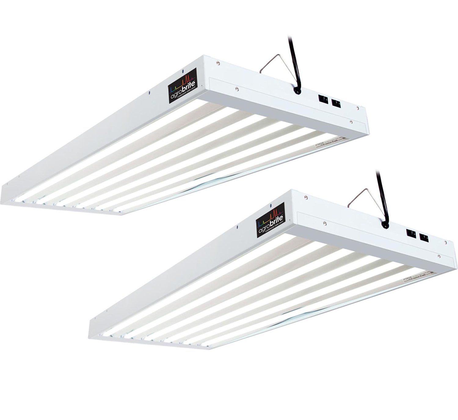 Get Ations 2 Agrobrite T5 324w 4 6 Grow Light Fixtures W