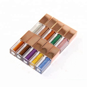 OEM Romantic Color Eye Shadow Professional Glitter Liquid Eye Shadow With 10 Color