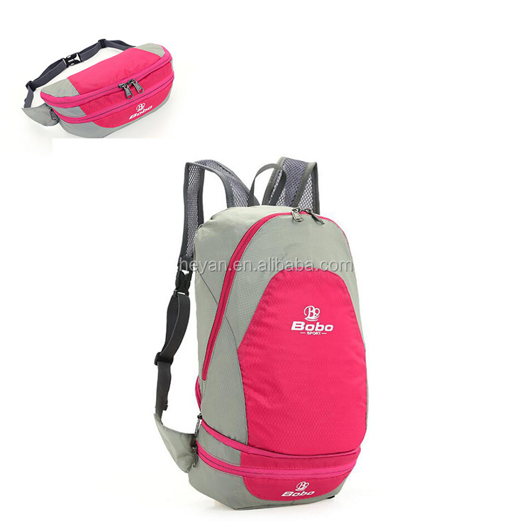 Outdoor Foldable Waterproof Climbing Sports Travel Nylon Backpacks