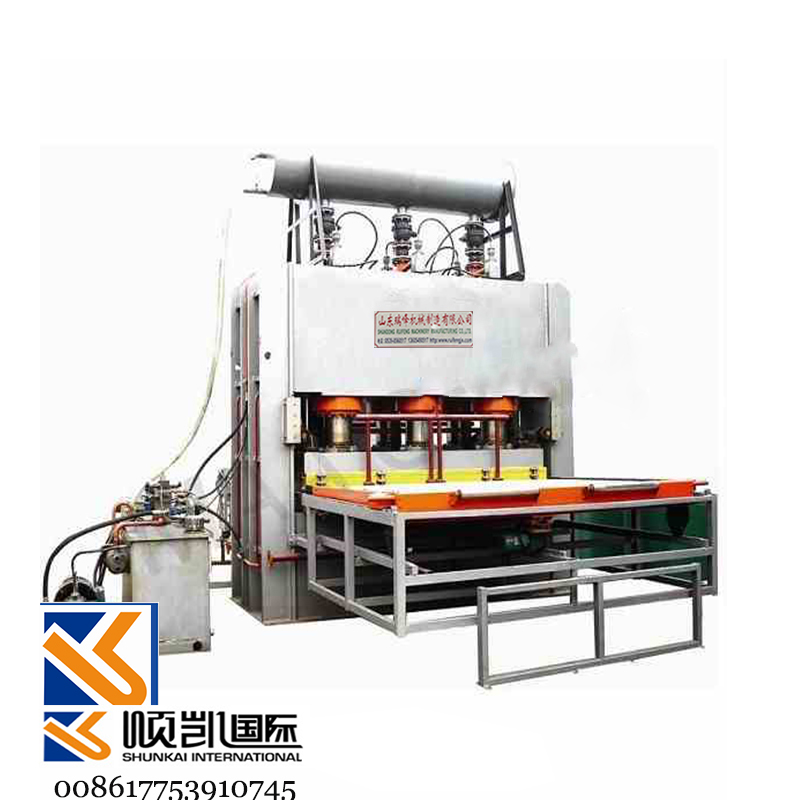 1600T 69feet short cycle lamination hot press production line