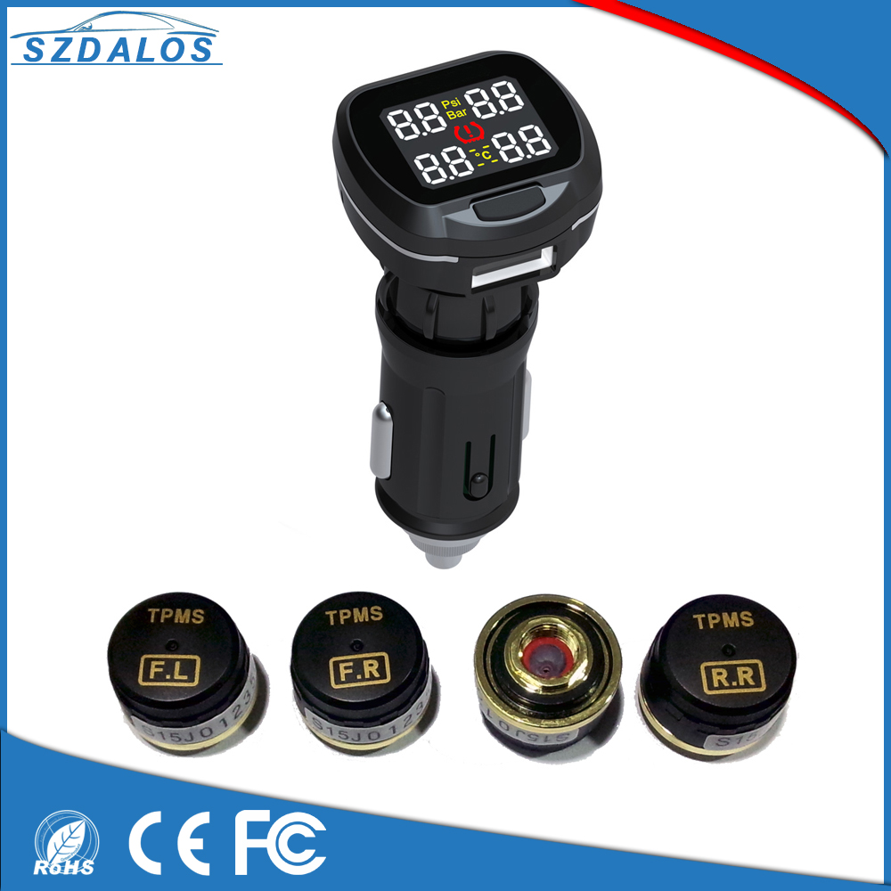 New TPMS DIY digital pressure gauge tire pressure manufacturer