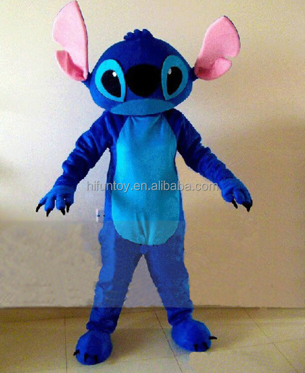 Funtoys CE adult stitch mascot costume for sale
