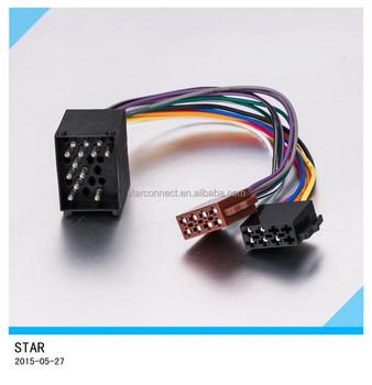 wholesales custom automobile iso plug audio wiring harness for bmw rh alibaba com
