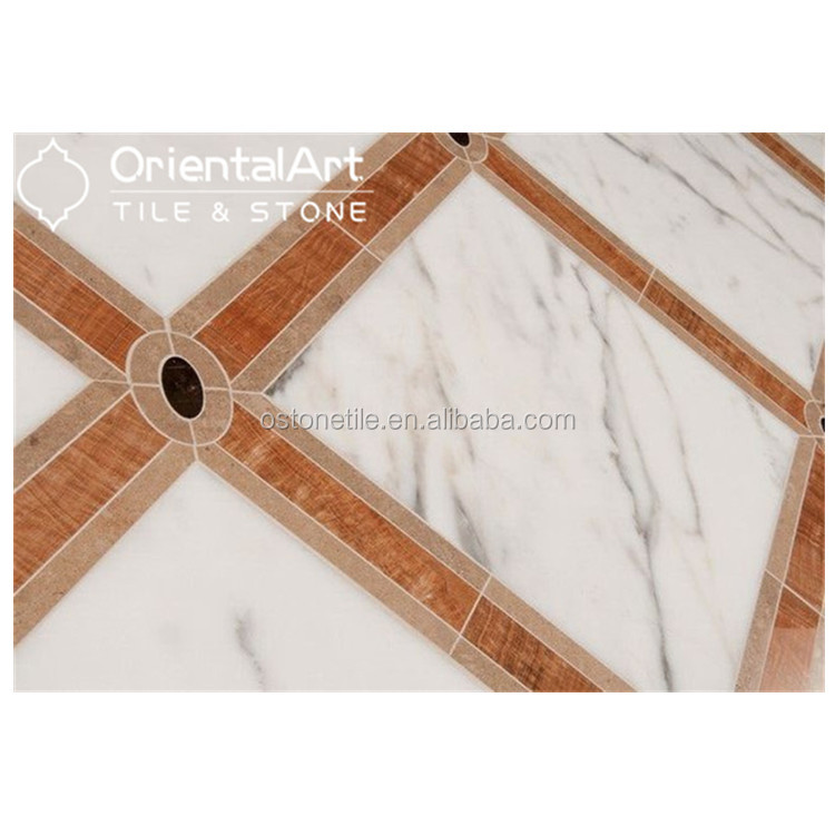 Italy Marble Flooring Border Corner Designs