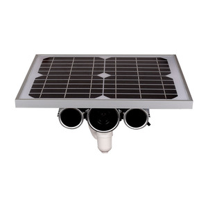 Low consumption outdoor 3g 4g solar powered cctv security ip camera