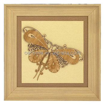 Wall Decor Butterfly Wood Shadow Box For Wholesale - Buy Natural ...