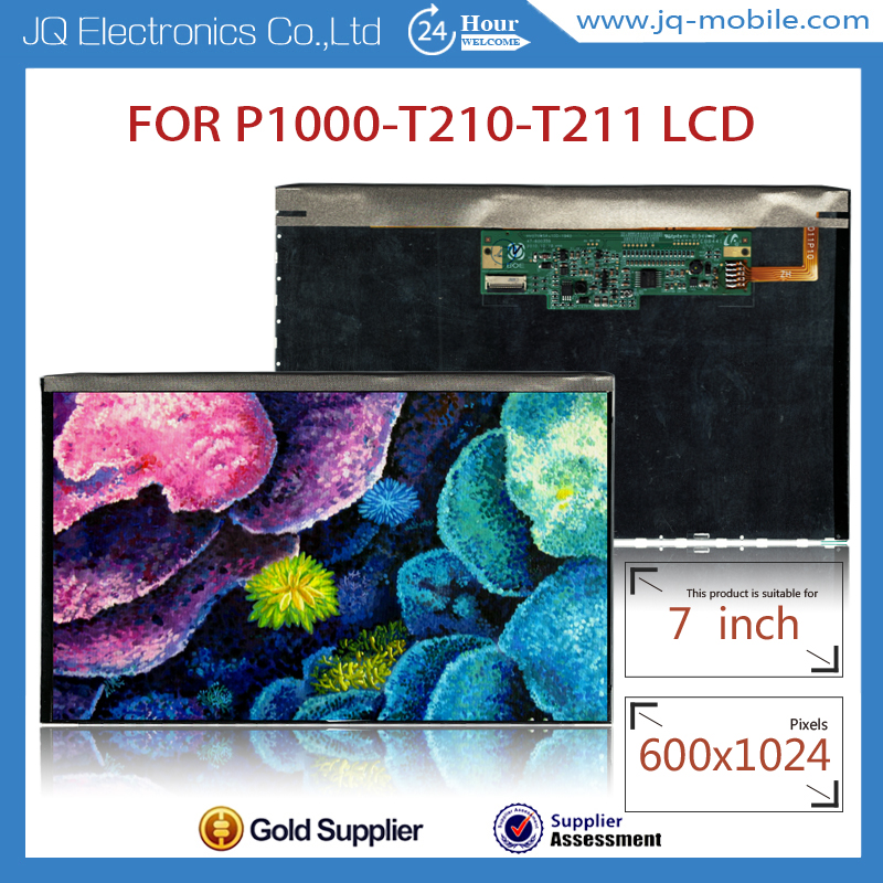 No dead pixels brand new tablet touch screen lcd replacement for samsung galaxy tab T210 T211 P1000