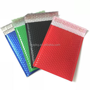 Colorful Bubble envelope Shipping Bag for Eyelash box and Hair Extensions